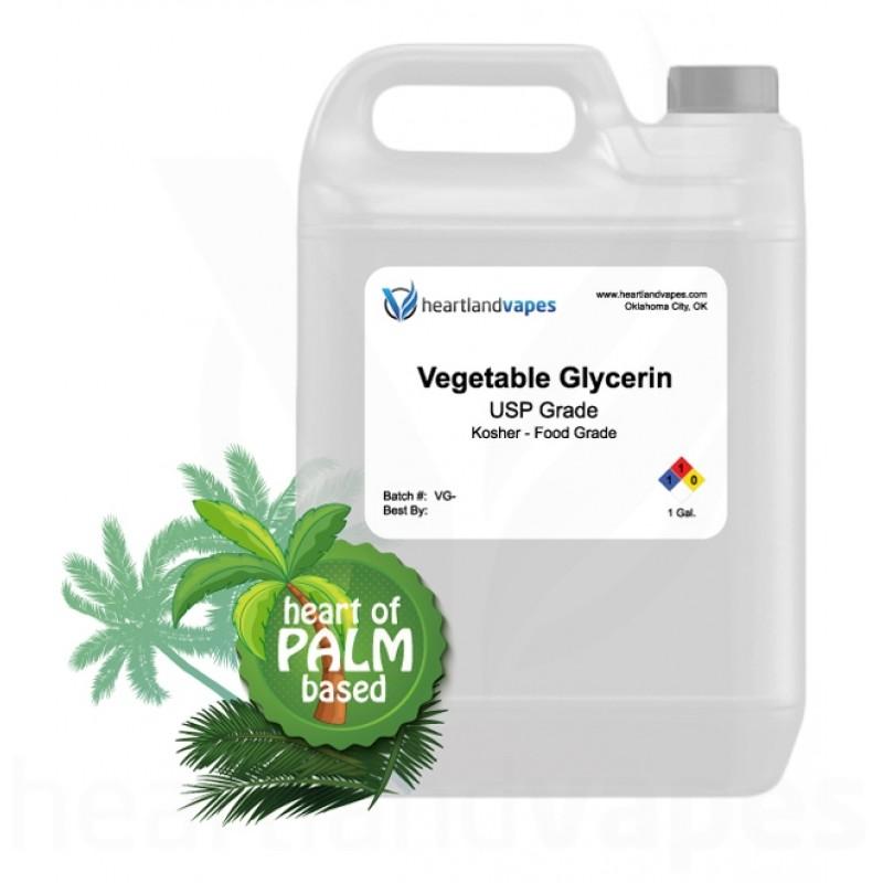 Vegetable Glycerin - USP Kosher - 1 Gallon at Heartlandvapes