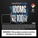 Nicotine Solution - 100mg Gallon