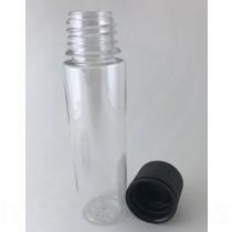 60ml V3 Transparent with Black Caps