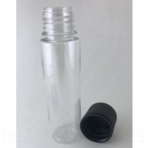 60ml V2 Transparent with Black Caps