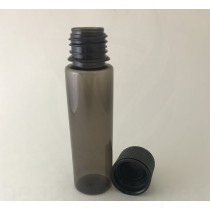 60ml V2 Transparent Black with Black Caps