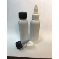 120ml PET White Bottle Set