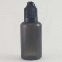 60ml Transparent Black Bottles (100 Lot)