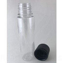 60ml V3 Transparent with Black Caps