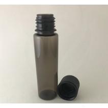60ml V2 Transparent Black with Black Caps