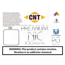 CNT Nicotine - 100mg Liter